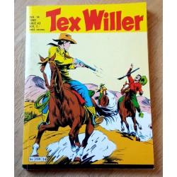 Tex Willer: 1981 - Nr. 14 - De fire rømlingene