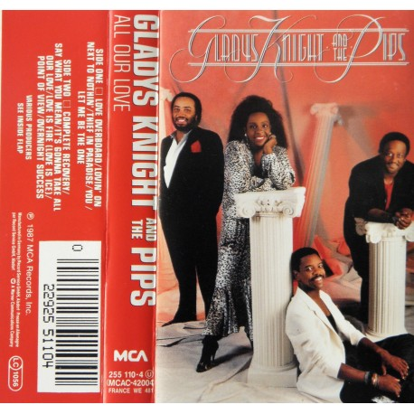 Gladys Knight and The Pips- All Our Love