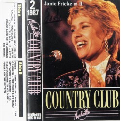 Country Club Nr. 2- 1987. (Med bl.a Janie Fricke)