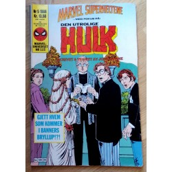 Marveluniverset: 1988 - Nr. 5 - Den utrolige Hulk (115)