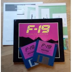 F-19 Stealth Fighter (MicroProse) - Amiga
