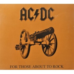 AC/DC- For Those About To Rock (CD)