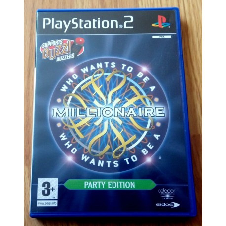Who Wants To Be A Millionaire? - Party Edition (Eidos) - Playstation 2