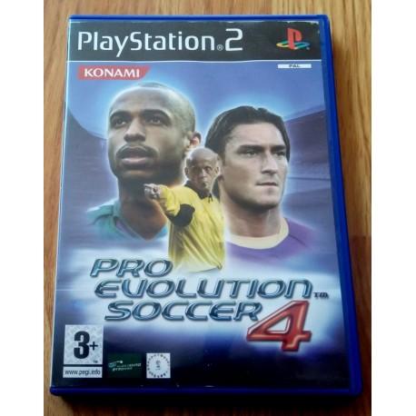 Pro Evolution Soccer 4 (Konami) - Playstation 2