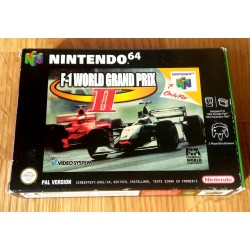Nintendo 64: F1 World Grand Prix II (PAL)