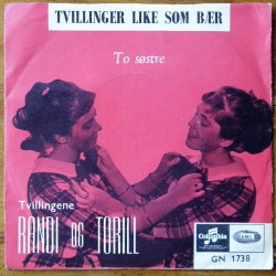 Tvillingene Randi og Torill- Tvillinger like som bær (Vinyl)