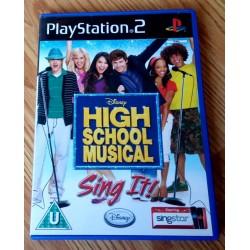 High School Musical - Sing It! (Disney) - Playstation 2