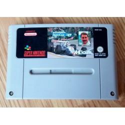 Super Nintendo: Newman / Haas IndyCar featuring Nigel Mansell (Acclaim)