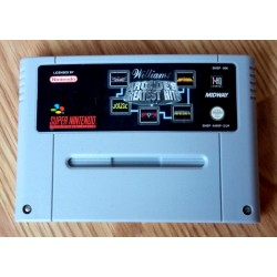 Super Nintendo: Williams Arcade's Greatest Hits (Midway)