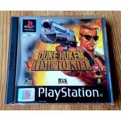 Duke Nukem - Time to Kill (3D Realms) - Playstation 1