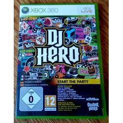 Xbox 360: DJ Hero (Activision)