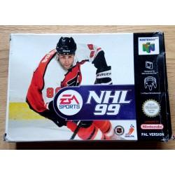 Nintendo 64: NHL 99 (EA Sports)