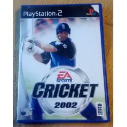 Cricket 2002 (EA Sports) - Playstation 2
