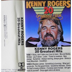 Kenny Rogers- 20 Greatest Hits