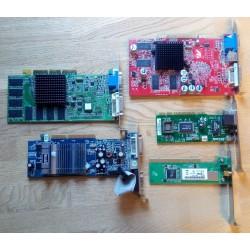 Samling med gamle PC/MAC-kort