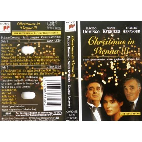 Christmas in Vienna III (kassett)