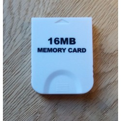 Nintendo GameCube: 16 MB Memory Card - Brukt
