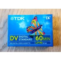 TDK - Mini DV - Digital Video Cassette - 60 min
