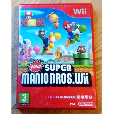 Nintendo Wii: New Super Mario Bros. Wii