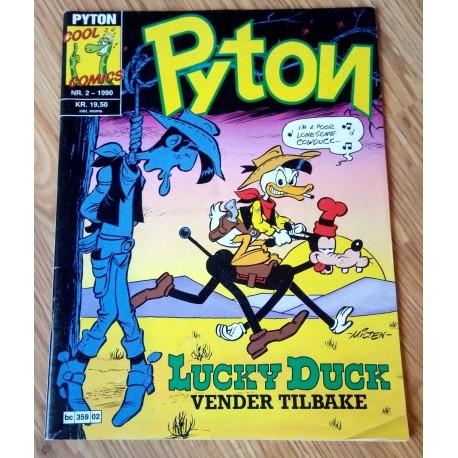 Pyton: 1990 - Nr. 2 - Lucky Duck vender tilbake
