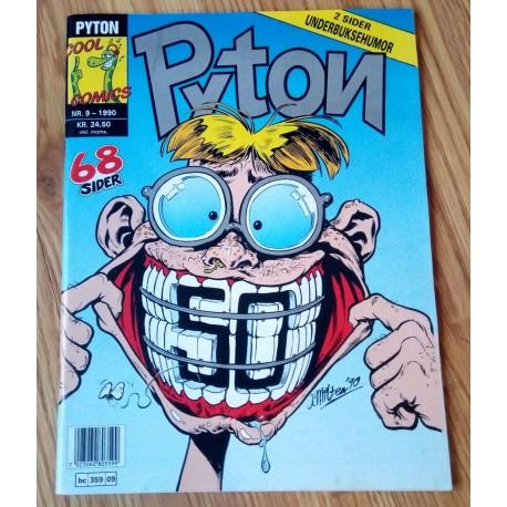 Pyton: 1990 - Nr. 9 - 2 sider underbuksehumor