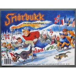 Smørbukk- Julehefte 1993- Dei store vinterleikane