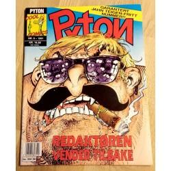Pyton: 1991 - Nr. 6 - Redaktøren vender tilbake