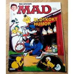 Norsk MAD: 1986 - Nr. 3 - Bløtkokt humor