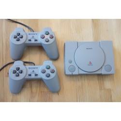 Sony Playstation Classic - Mini-konsoll med to håndkontrollere