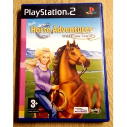 Barbie Horse Adventures Wild Horse Rescue (Vivendi Universal) - Playstation 2