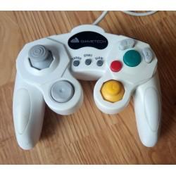 Nintendo GameCube: Hvit Gametech håndkontroll