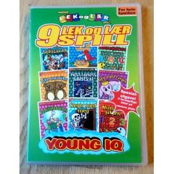 9 Lek og lær spill - Young IQ - PC