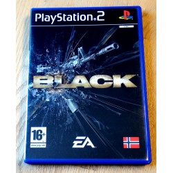 Black (EA Games) - Playstation 2