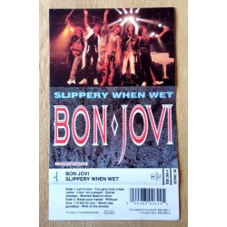 Bon Jovi: Slippery When Wet - Kassett