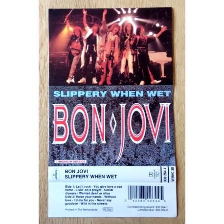 Bon Jovi: Slippery When Wet - Kassett