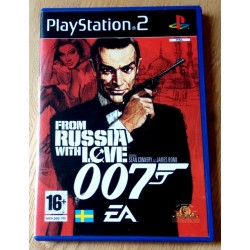 007 - From Russia with Love (EA Games) - Playstation 2