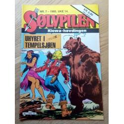 Sølvpilen: 1985 - Nr. 7 - Uhyret i tempelsjøen
