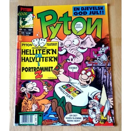 Pyton: 1991 - Nr. 13 - Med Pyton-teateret midt i bladet