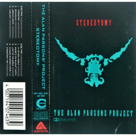 The Alan Parsons Project- Stereotomy
