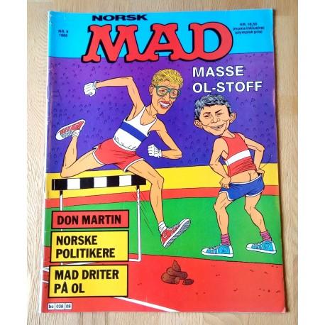 Norsk MAD: 1988 - Nr. 9 - Masse OL-stoff