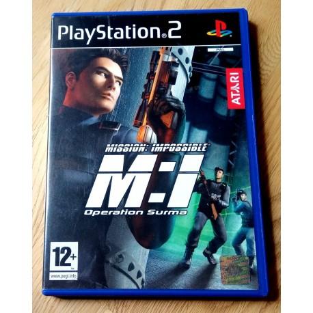 Mission: Impossible - Operation Surma (Atari) - Playstation 2