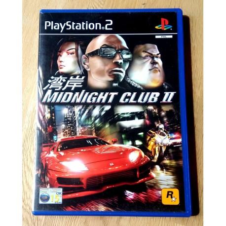 Midnight Club II (Rockstar Games) - Playstation 2