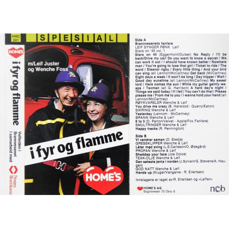 Leif Juster & Wenche Foss- I fyr og flamme