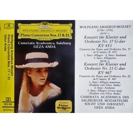 Mozart- Piano Concertos Nos 17 & 21