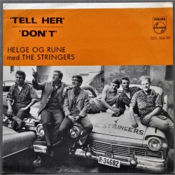 Helge og Rune med The Stringers- Tell Her/Don't