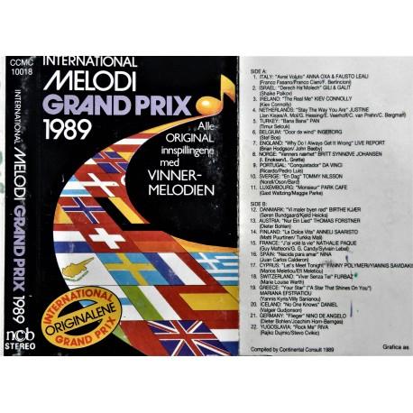 Melodi Grand Prix 1989 (Originalartister)