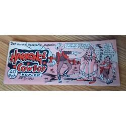 Harrongs Cowboy Komikk - 1955 - Nr. 5