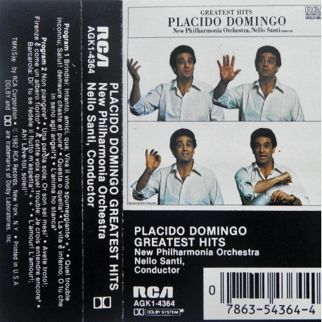 Placido Domingo- Greatest Hits