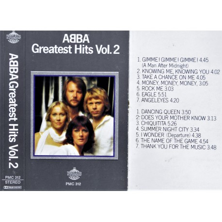 ABBA- Greatest Hits Vol. 2