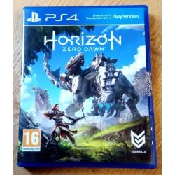Playstation 4: Horizon Zero Dawn (Guerrilla)